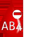 AB4 Negativ